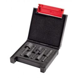 MILWAUKEE ZESTAW KOŃCÓWEK Z NASADKĄ 5szt. 7-8-10-12-13mm SHOCKWAVE IMPACT DUTY