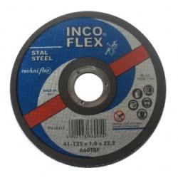 INCOFLEX TARCZA DO SZLIFOWANIA METALU  125 x 6,5 x 22,2mm