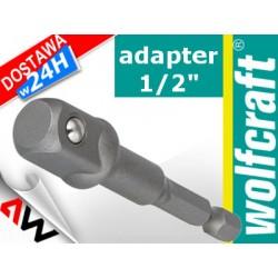 "WOLFCRAFT ADAPTER DO KLUCZY NASADOWYCH UCHWYT 1/2"" 72mm"