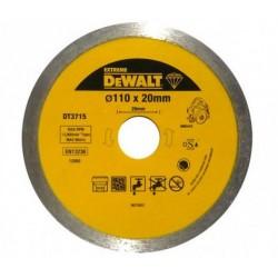 DEWALT TARCZA DIAMENTOWA 110 x 20mm DT3715 do DWC410