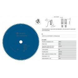 PIŁA TARCZOWA 305x25,4mm 80-ZĘBÓW EXPERT STAINLESS STEEL / STAL NIERDZEWNA INOX
