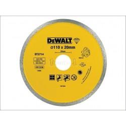 DEWALT TARCZA DIAM.110mmx20mm DT3714