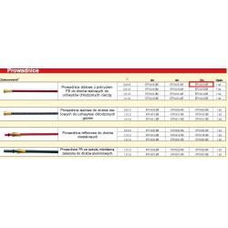 LINCOLN PROWADNICA 0, 6 - 0,9mm  5,4M  IZOLOWANA DO DRUTÓW STALOWYCH