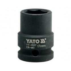 """YATO NASADKA UDAROWA 1/2"""" 17mm KRÓTKA 1007"""