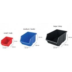 ECOBOX DUŻY CZERWONY 220x350x165mm
