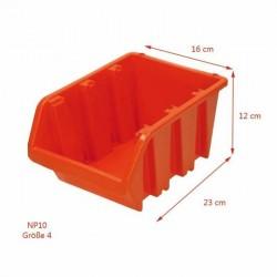 PROSPERPLAST ECOBOX CZERWONY 10 160x230x120mm