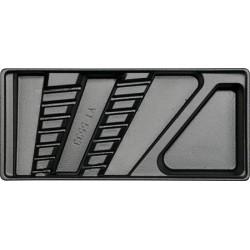 YATO WKŁADKA DO SZUFLADY NA KLUCZE ODGIĘTE 6-19mm (7szt.)   55331