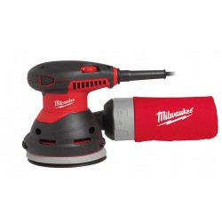 MILWAUKEE SZLIFIERKA MIMOŚRODOWA 125mm 300W ROS125E