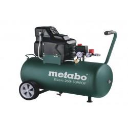 METABO SPRĘŻARKA BEZOLEJOWA 230V 50L BASIC 250-50 W OF
