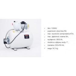NAC HYDROFOR BSE120-50-K 1200W 50L 3600 l/h
