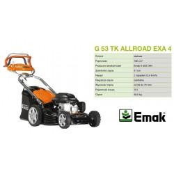 OLEO-MAC KOSIARKA SPALINOWA Z NAPĘDEM 6KM* 51cm EMAK K800 OHV  G 53 TK ALLROAD 4 EXA