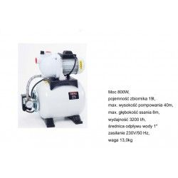 NAC HYDROFOR BSE 80-19-K 800W 19L