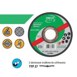 TARCZA DO SZLIFOWANIA KAMIENIA INCOFLEX 125 x 6,0mm