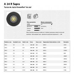 KLINGSPOR TARCZA DO CIĘCIA METALU 400mm x 4,5mm x 25,4mm  A24R Supra