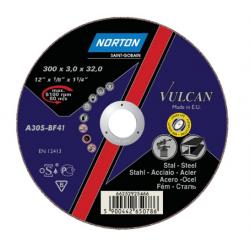 NORTON TARCZA VULCAN DO METALU 300 x 3.0 x 32 mm-T41 A30S