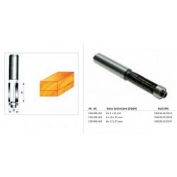 CONDOR FREZ DO DREWNA PROSTY Fi10 x 25mm TRZPIEŃ 8mm Z ŁOŻYSKIEM