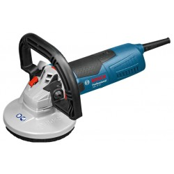 BOSCH SZLIFIERKA DO BETONU 1500W 125mm WALIZKA GBR 15 CA