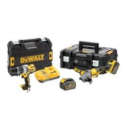 DEWALT ZESTAW COMBO 18/54V DCD996+DCG414 FLEXVOLT 2x6,0Ah TSTAK