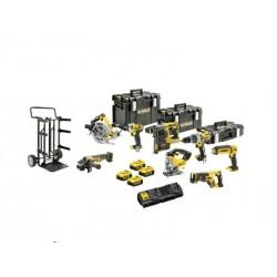 DEWALT ZESTAW COMBO 18V DCD996+DCF880+DCG405+DCS331+DCS367+DCS570+DCH273+DCL050 4x5,0Ah WÓZEK TS