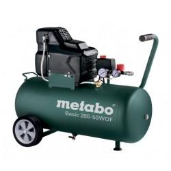 METABO SPRĘŻARKA BEZOLEJOWA BASIC 230V 50L 280-50 W OF
