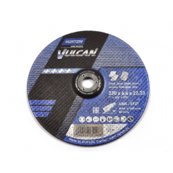 NORTON TARCZA VULCAN DO METALU 230mm x 6.4mm x 22.2mm -T27  A30S