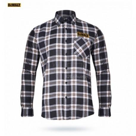 koszula flanelowa granatowo-beżowa M - XXXL Dewalt