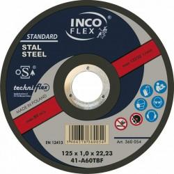 TARCZA METAL SZLIF.INCOFLEX  125*6,5