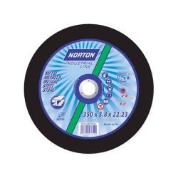 NORTON TARCZA NORLINE DO METALU 350mm x 4.0mm x 20mm -T41  A24T  DO STHILA
