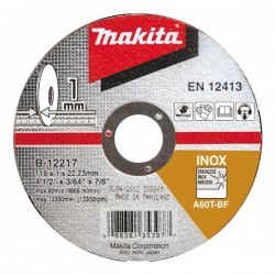 MAKITA TARCZA DO METALU INOX A60T 115x1,0x22,2mm