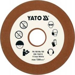 YATO TARCZA DO OSTRZENIA ŁAŃCUCHA 108x3,2x22