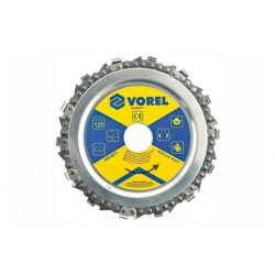 VOREL TARCZA ŁAŃCUCHOWA 125mm 08771