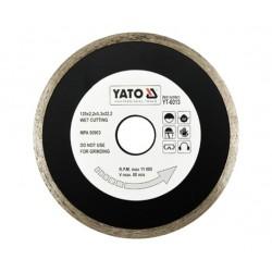 YATO TARCZA DIAMENTOWA PEŁNA 125 x 22,2mm    6013