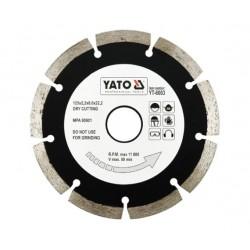 YATO TARCZA DIAMENTOWA SEGMENTOWA 125 x 22,2mm   6003