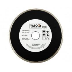 YATO TARCZA DIAMENTOWA PEŁNA 180 x 25,4mm   6016