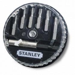 STANLEY KOMPLET KOŃCÓWEK  7szt.(6TORX+UCH) 687391