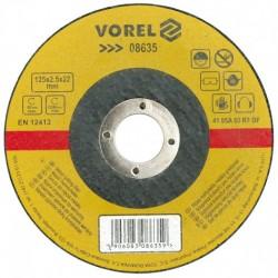 VOREL TARCZA DO CIĘCIA METALU 230 x 2,5 x 22,2mm  08641